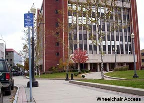 Wheelchair access for Fairfield Courthouse