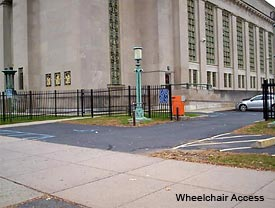 Wheelchair access for Hartford JD Courthouse