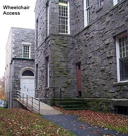 Wheelchair Access for Litchfield Courthouse