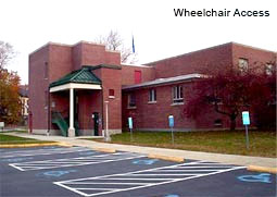Wheelchair access for Putnam Courthouse